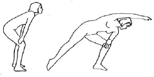Упражнение Боковая растяжка