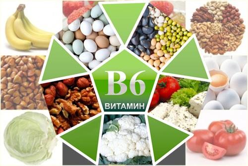 продукты содержащие пиридоксин